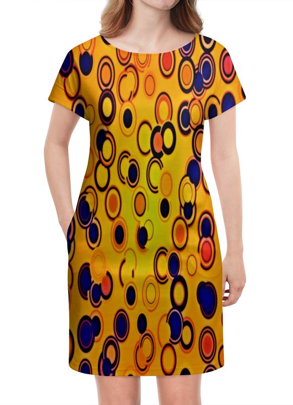 Платье летнее Printio Шары цветные