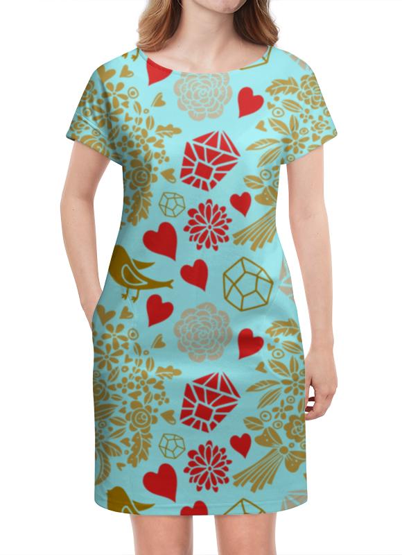 Платье летнее Printio День св. валентина