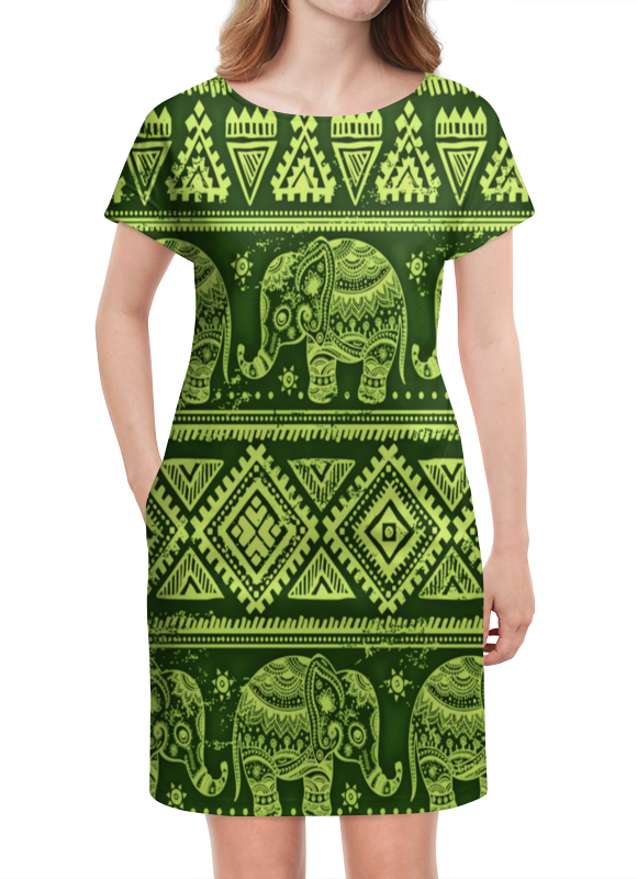 Платье летнее Printio Слоны