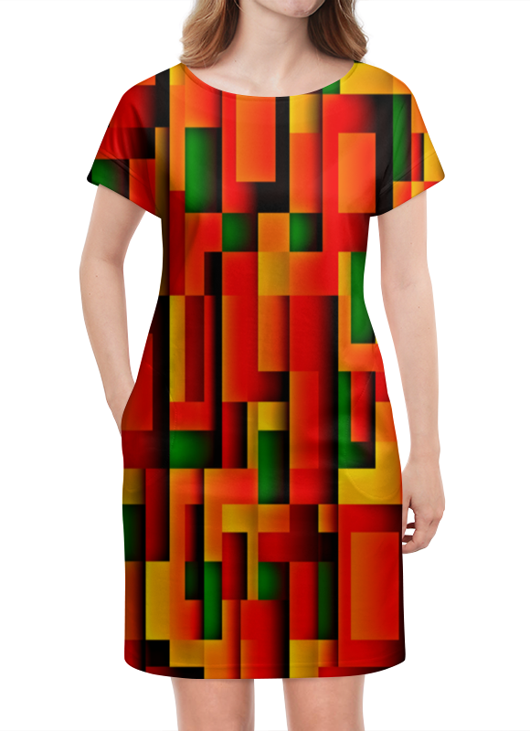 Платье летнее Printio Орнамент графический графический дизайн