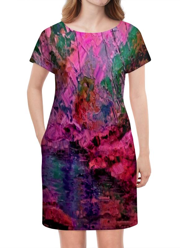 Платье летнее Printio Краски лета василий алферов на исходе лета