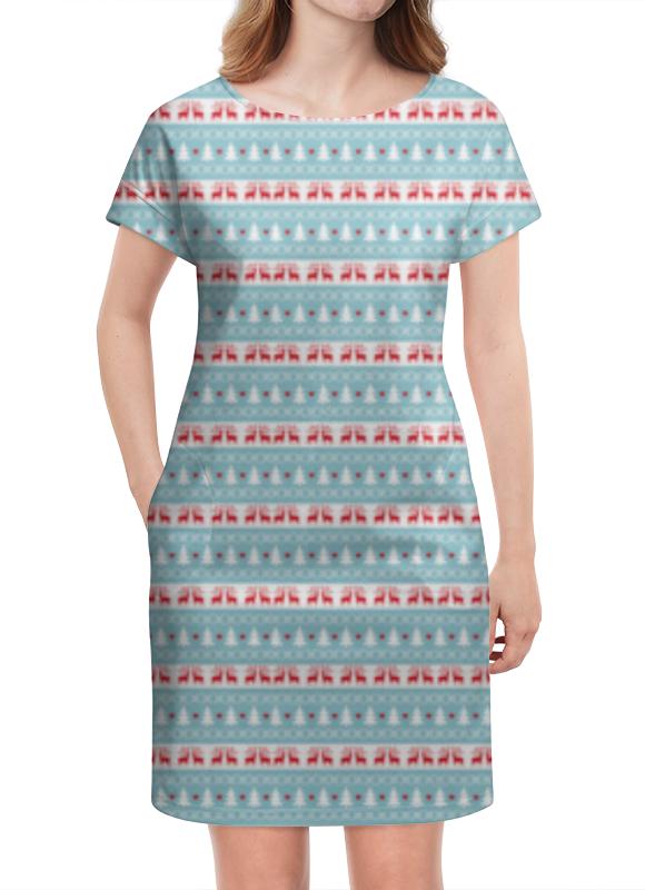 Платье летнее Printio Новый год