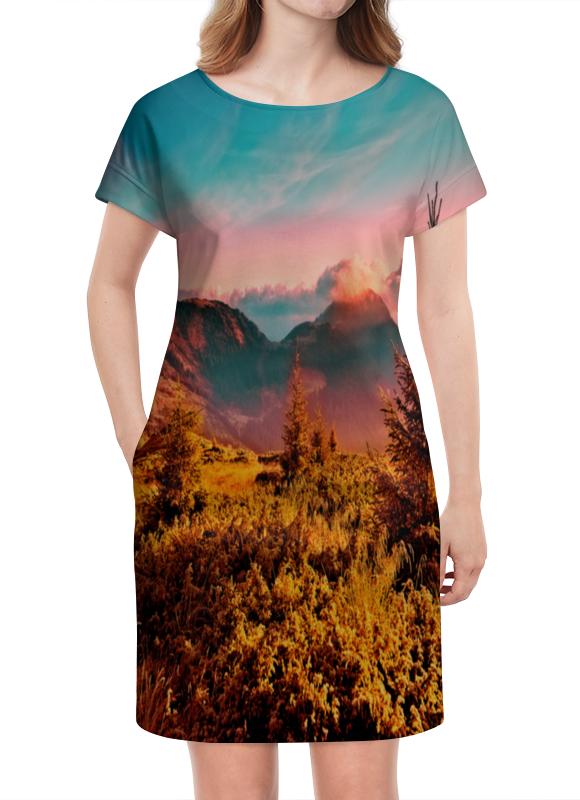 Платье летнее Printio Природа николай делоне квантовая природа вещества