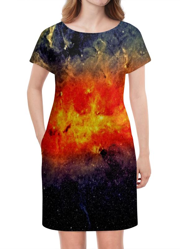 Платье летнее Printio Звезды атакама атакама звезды