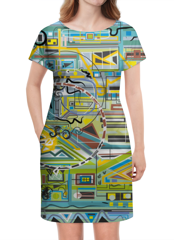 Платье летнее Printio Березка блокнот printio березка