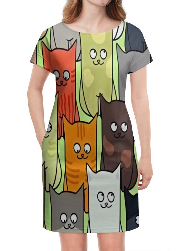 Платье летнее Printio Котята полуперсидские котята в москве