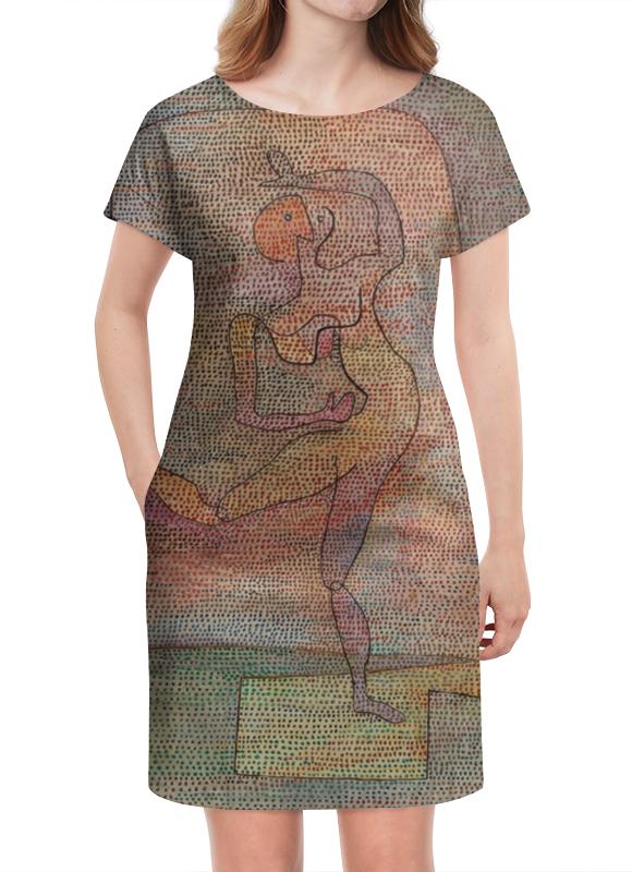 Платье летнее Printio Танцовщица (пауль клее)