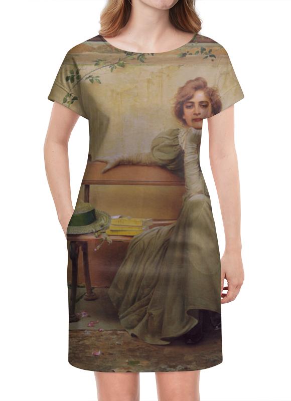 Платье летнее Printio Мечты (витторио коркос) платье летнее printio мечты о любви
