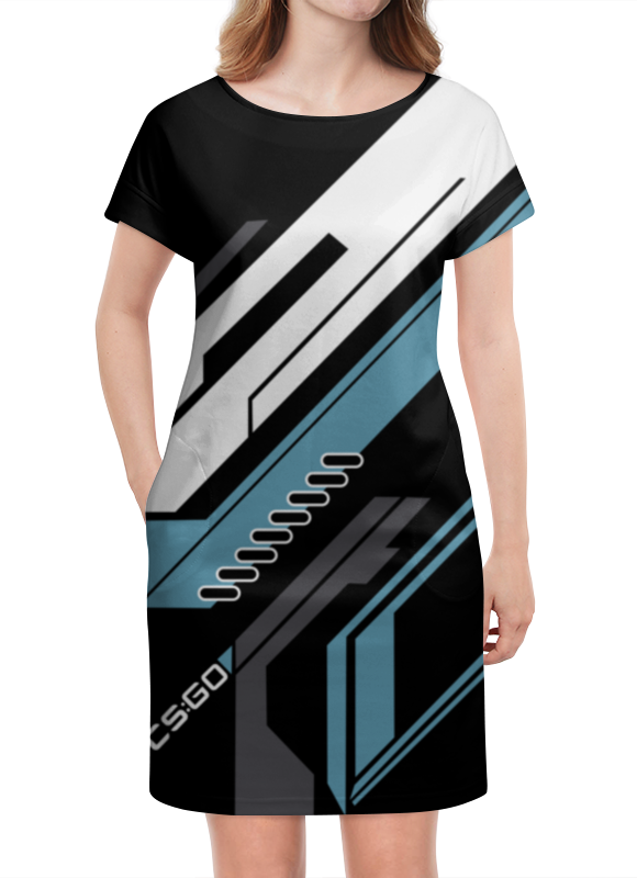 Платье летнее Printio Cs:go - vulcan style (вулкан) худи print bar cs go asiimov black
