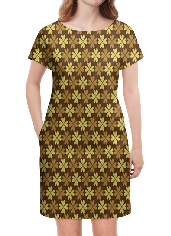 Платье летнее Printio Листы клевера в минске полимерные листы