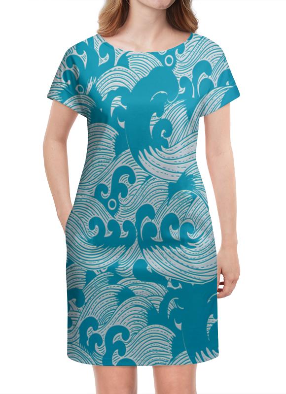 Платье летнее Printio Волны
