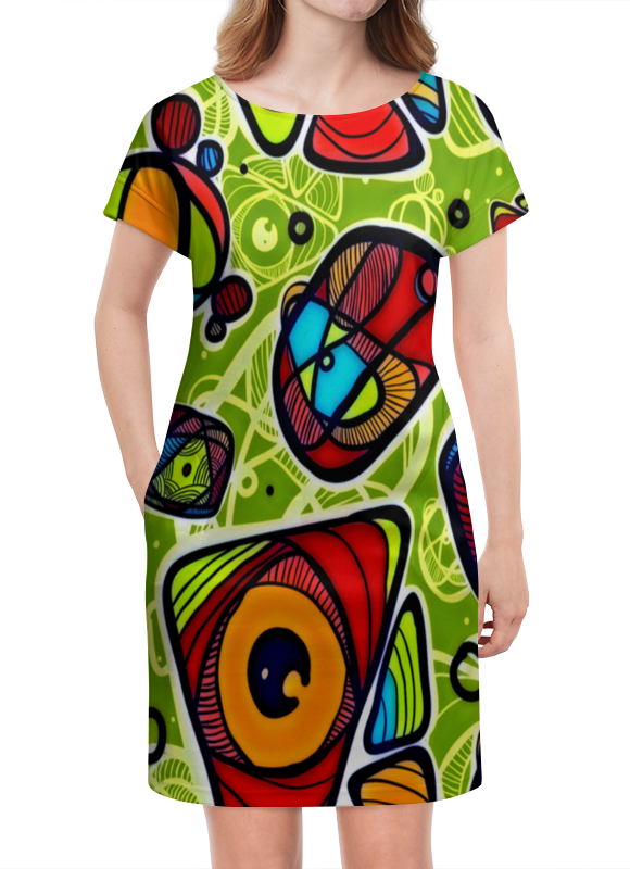 Платье летнее Printio Минимализм