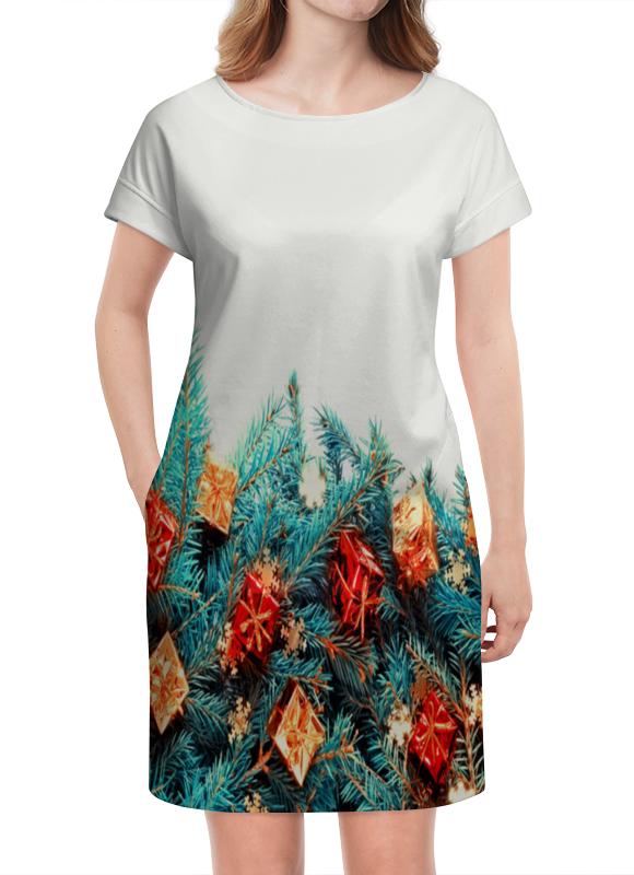 Платье летнее Printio Подарки на елке