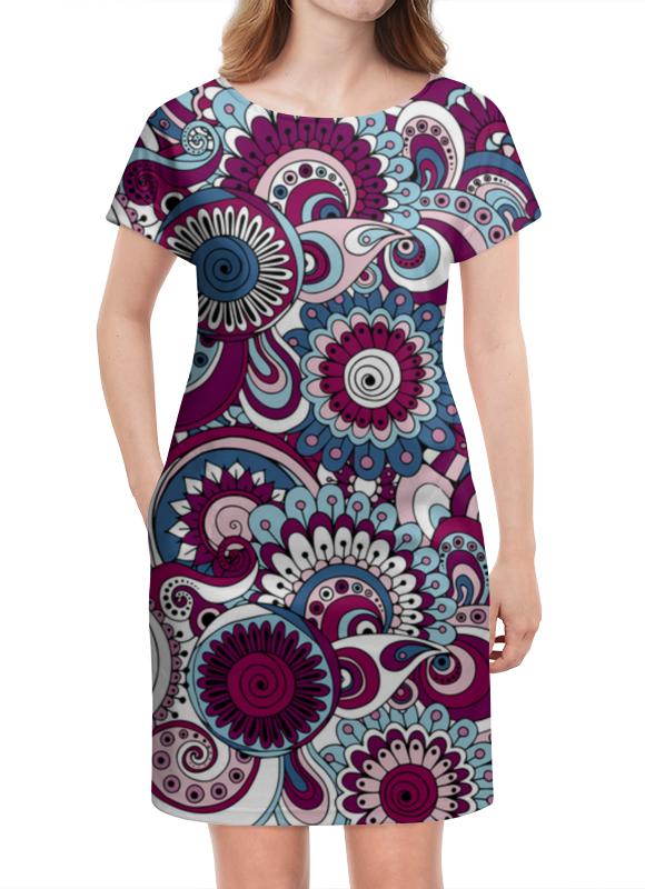 Платье летнее Printio Круги платье летнее в москве