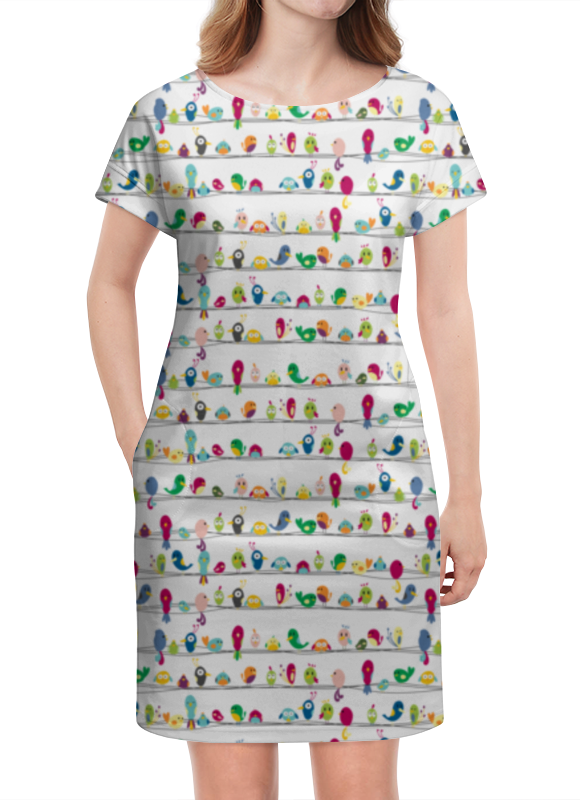 Платье летнее Printio Birds (птички) mango birds