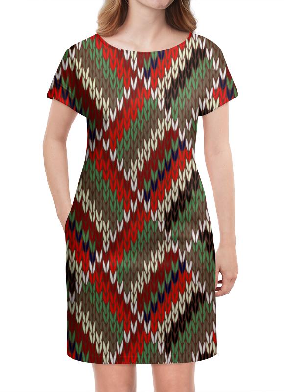 Платье летнее Printio Вязание