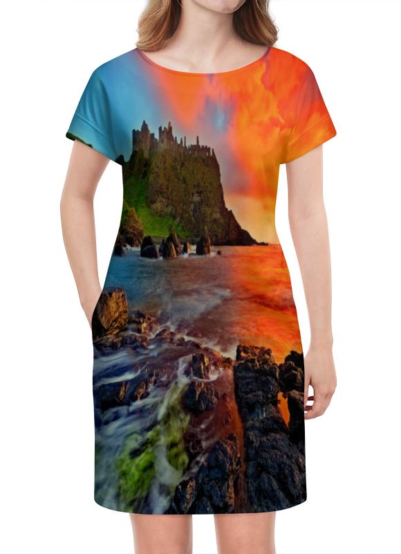 Платье летнее Printio Закат степной закат