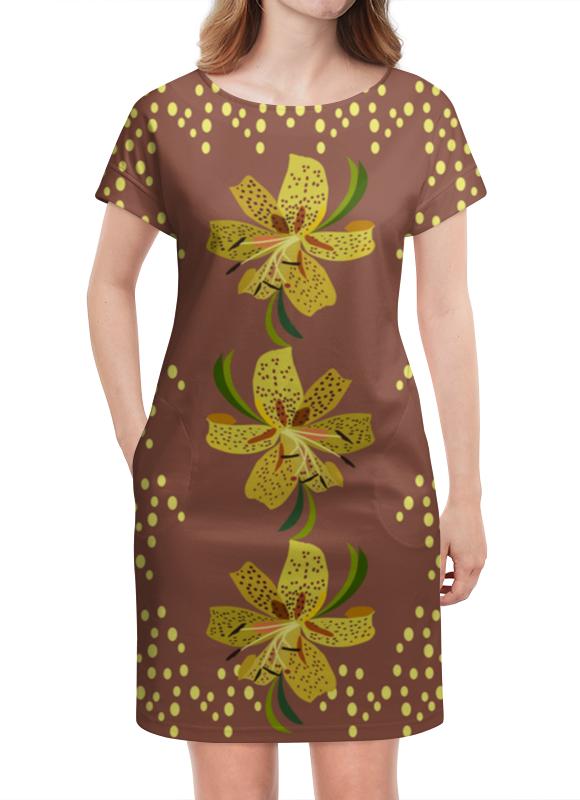 Платье летнее Printio Тигровые лилии платье летнее в москве