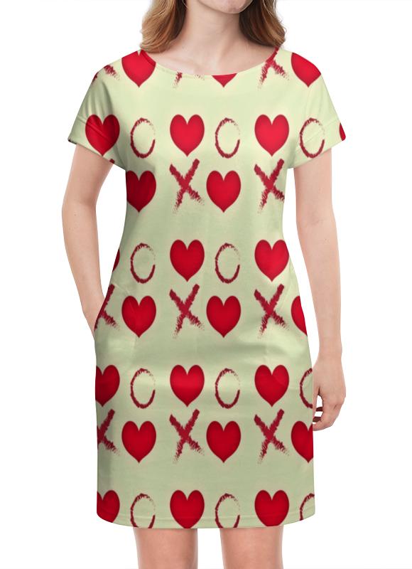 Платье летнее Printio Крестики-нолики платье летнее printio крестики нолики