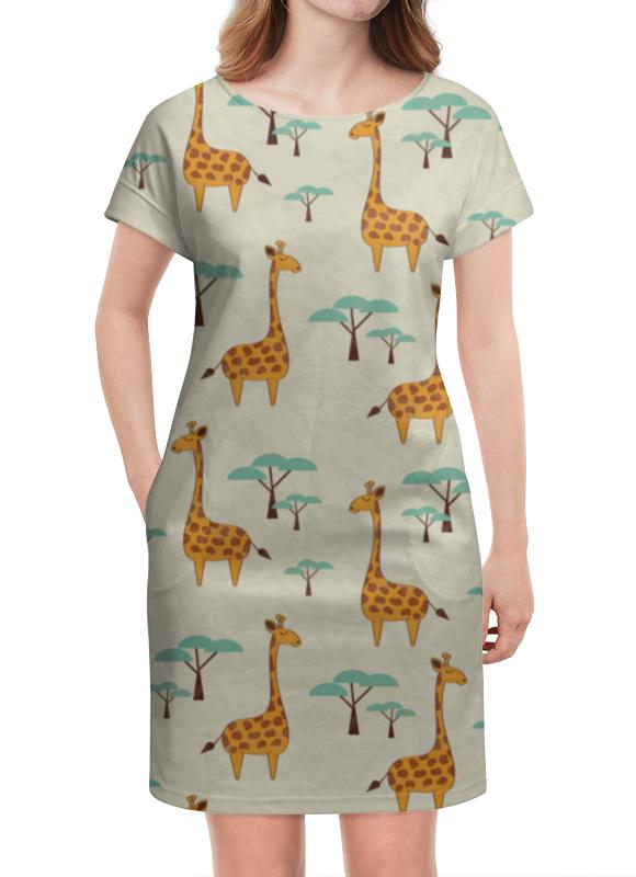 Платье летнее Printio Жирафы