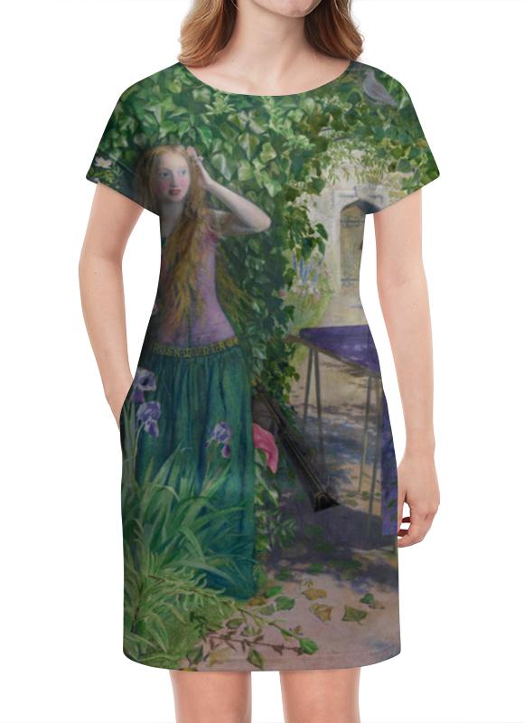 Платье летнее Printio Ярмарка розамунда (артур хьюз) артур конан дойл тайна клумбера