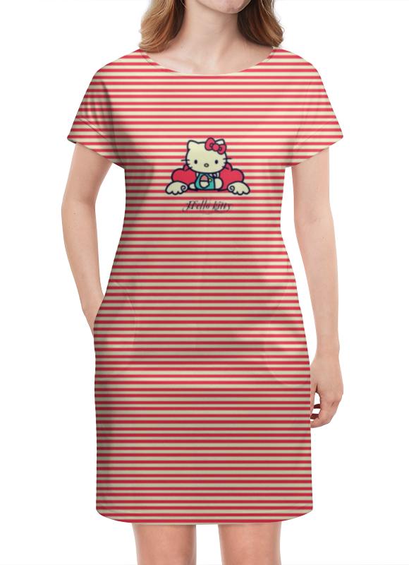 Платье летнее Printio Ретро (hello kitty) платье hello kitty 132015201
