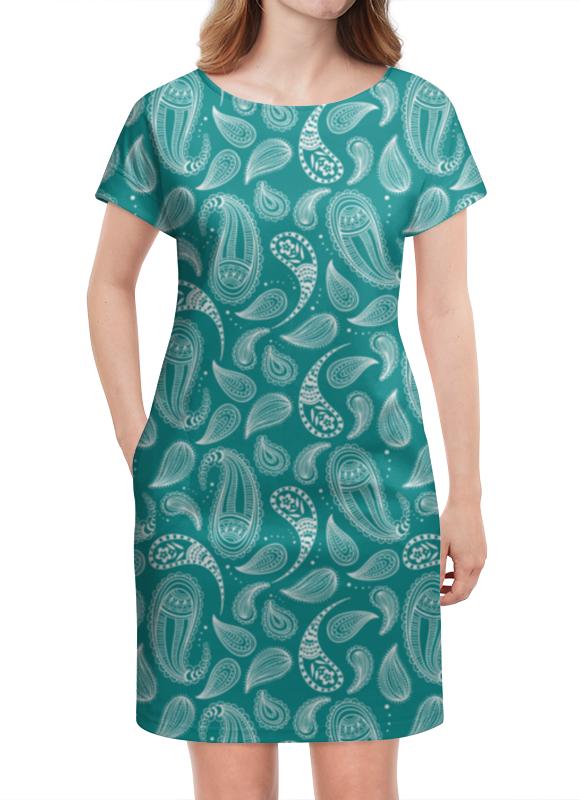 Платье летнее Printio Пейсли платье туника otto цвет зеленый пейсли