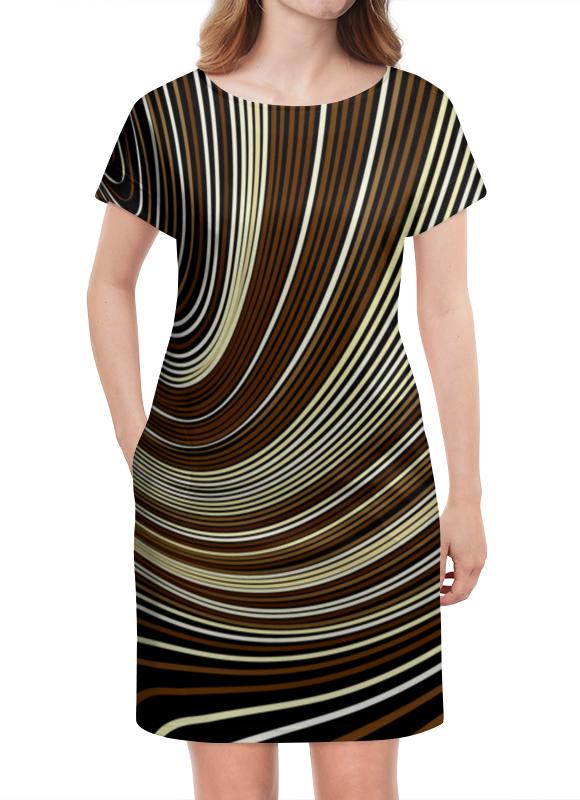 Платье летнее Printio Линии