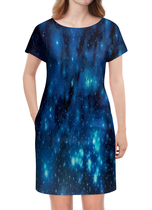 Платье летнее Printio Звездное небо картленд барбара звездное небо гонконга