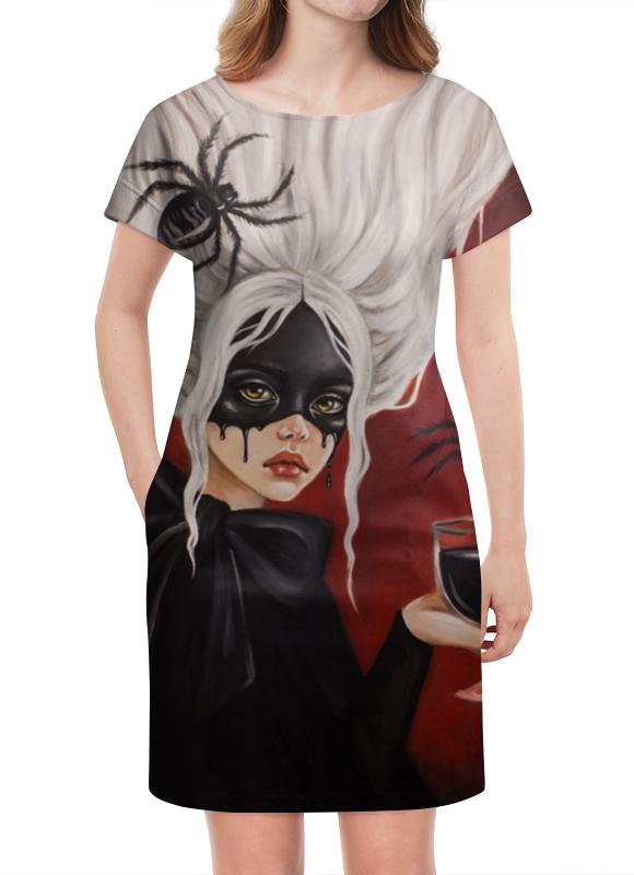 Платье летнее Printio Черная вдова