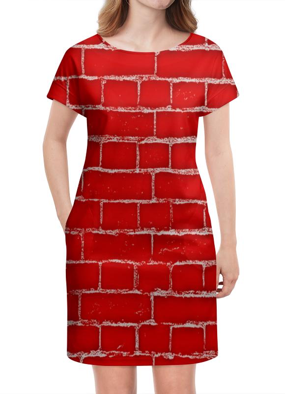 Платье летнее Printio Стена платье летнее printio пересечение