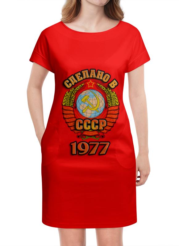 Платье летнее Printio Сделано в 1977 платье летнее в москве