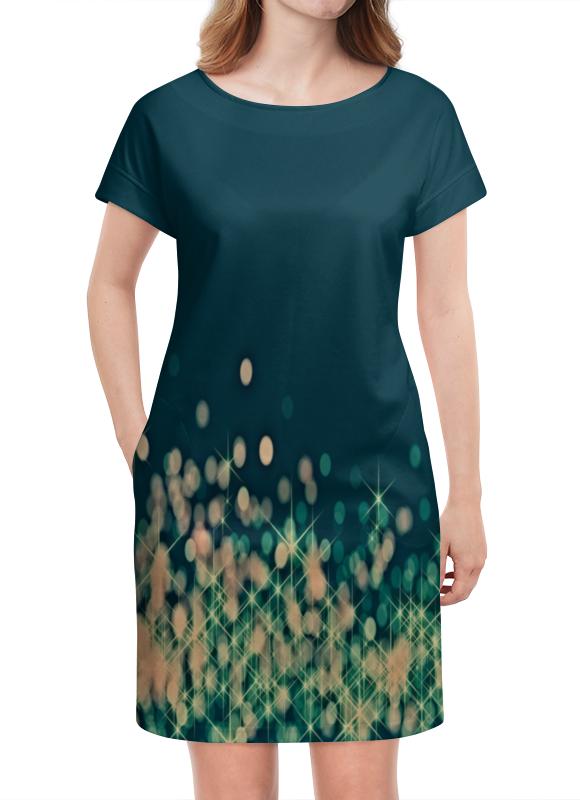 Платье летнее Printio Мерцающий