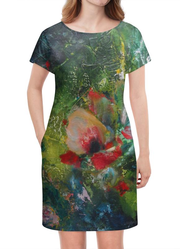 Платье летнее Printio Южный ветер падение сквозь ветер