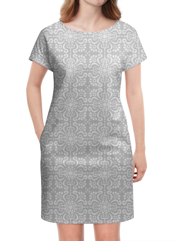 Платье летнее Printio Элегантное элегантное черное платье где