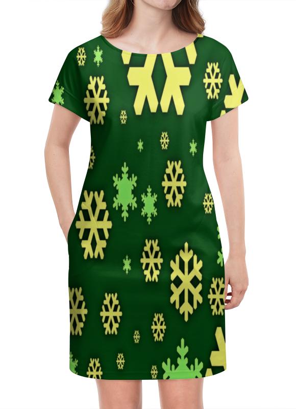 Платье летнее Printio Снежинки костюм маленькой снежинки 32