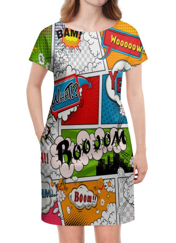 Платье летнее Printio Pop art still сувенир фмф магнит круглый pop art гоголь