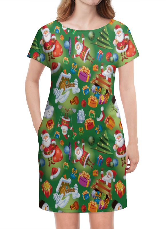 Платье летнее Printio Подарки подарки