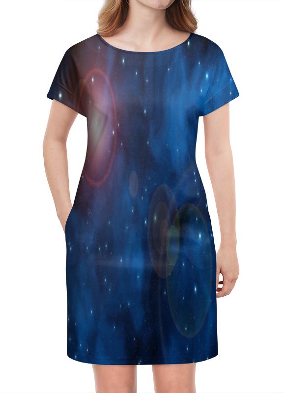 Платье летнее Printio Вспышки в космосе платье летнее в москве