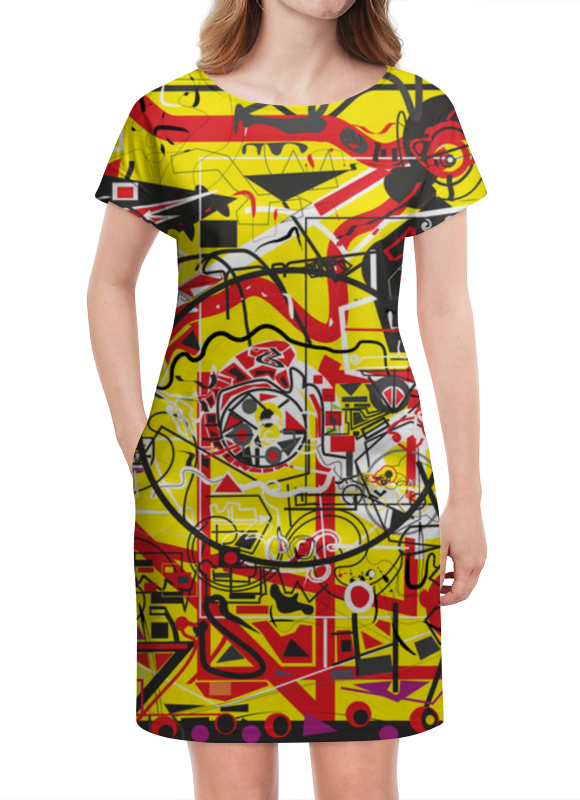 Платье летнее Printio Паутинка