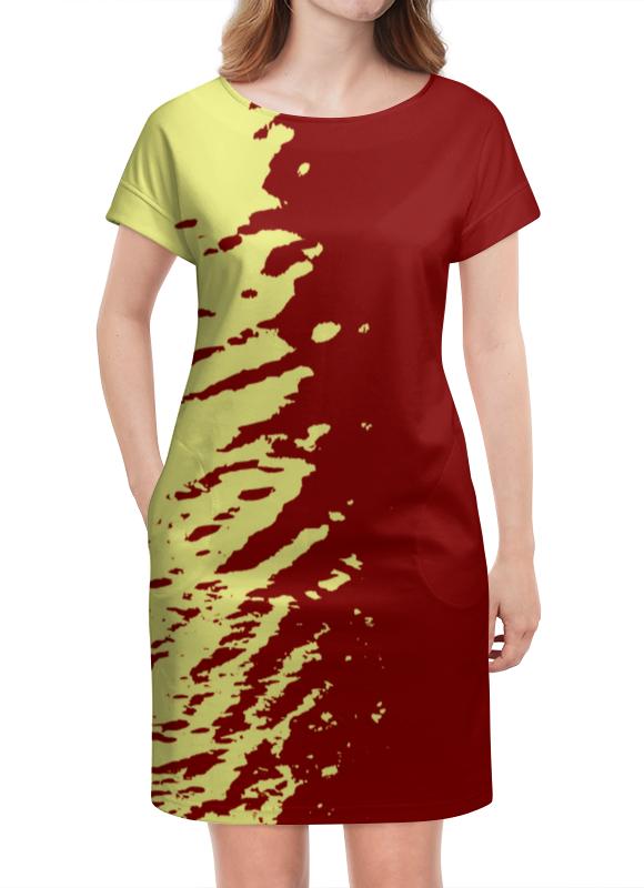 Платье летнее Printio Краски платье летнее printio пересечение