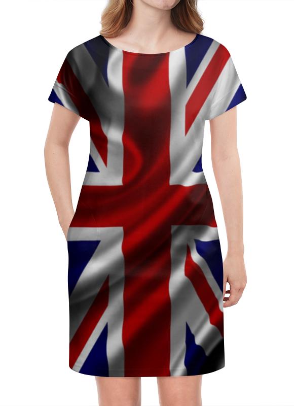 Платье летнее Printio Британский флаг флаг пограничных войск россии великий новгород