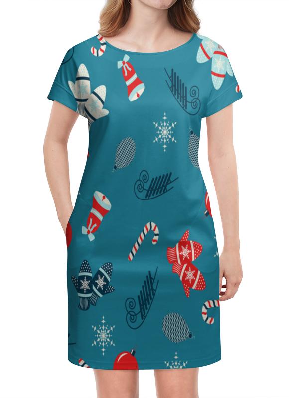 Платье летнее Printio Новогодние подарки