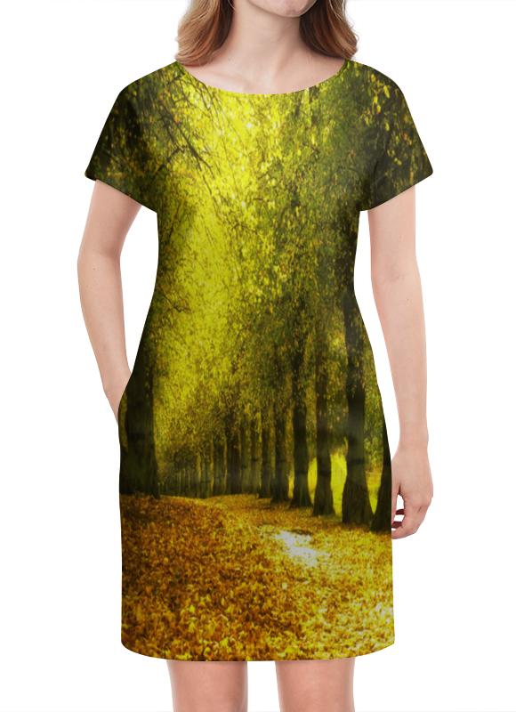 Платье летнее Printio Листопад