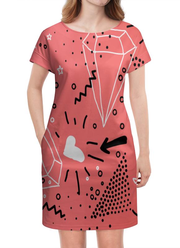 Платье летнее Printio Кристалл