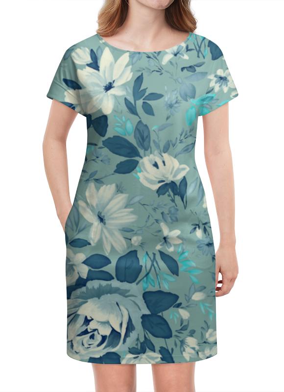 Платье летнее Printio Цветы. акварель