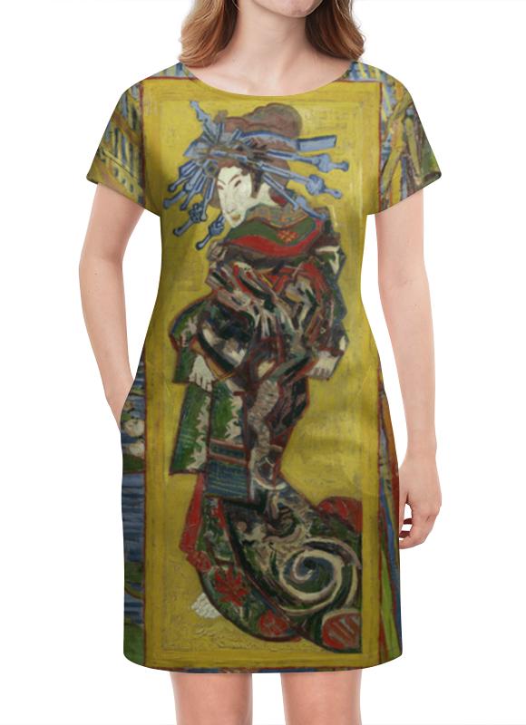 Платье летнее Printio Куртизанка (винсент ван гог) лэндон дж скандальная куртизанка