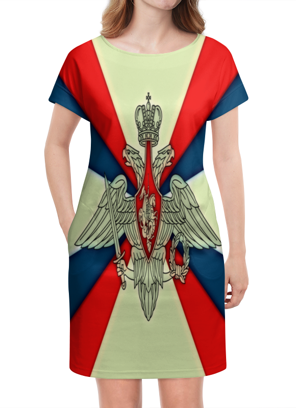 Платье летнее Printio Герб рф