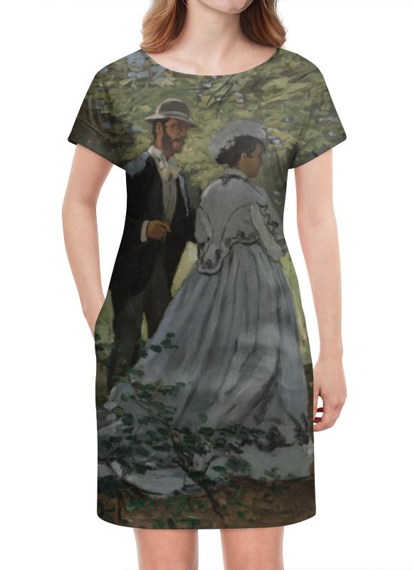 Платье летнее Printio Базиль и камилла (клод моне)