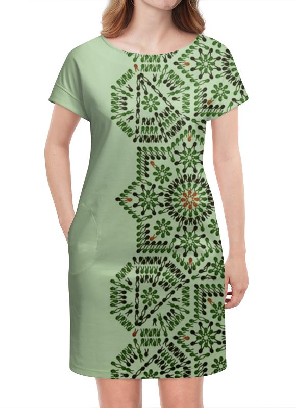 Платье летнее Printio Фисташка фисташка lak tribes 180g
